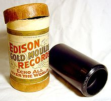 Edison Cylider Recording